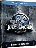 Jurassic World (Edition limitee Steelbook) - Combo Blu-ray + Copie digitale [Blu-ray] [Blu-ray + Copie digitale - Édition boîtier SteelBook] [Import italien]
