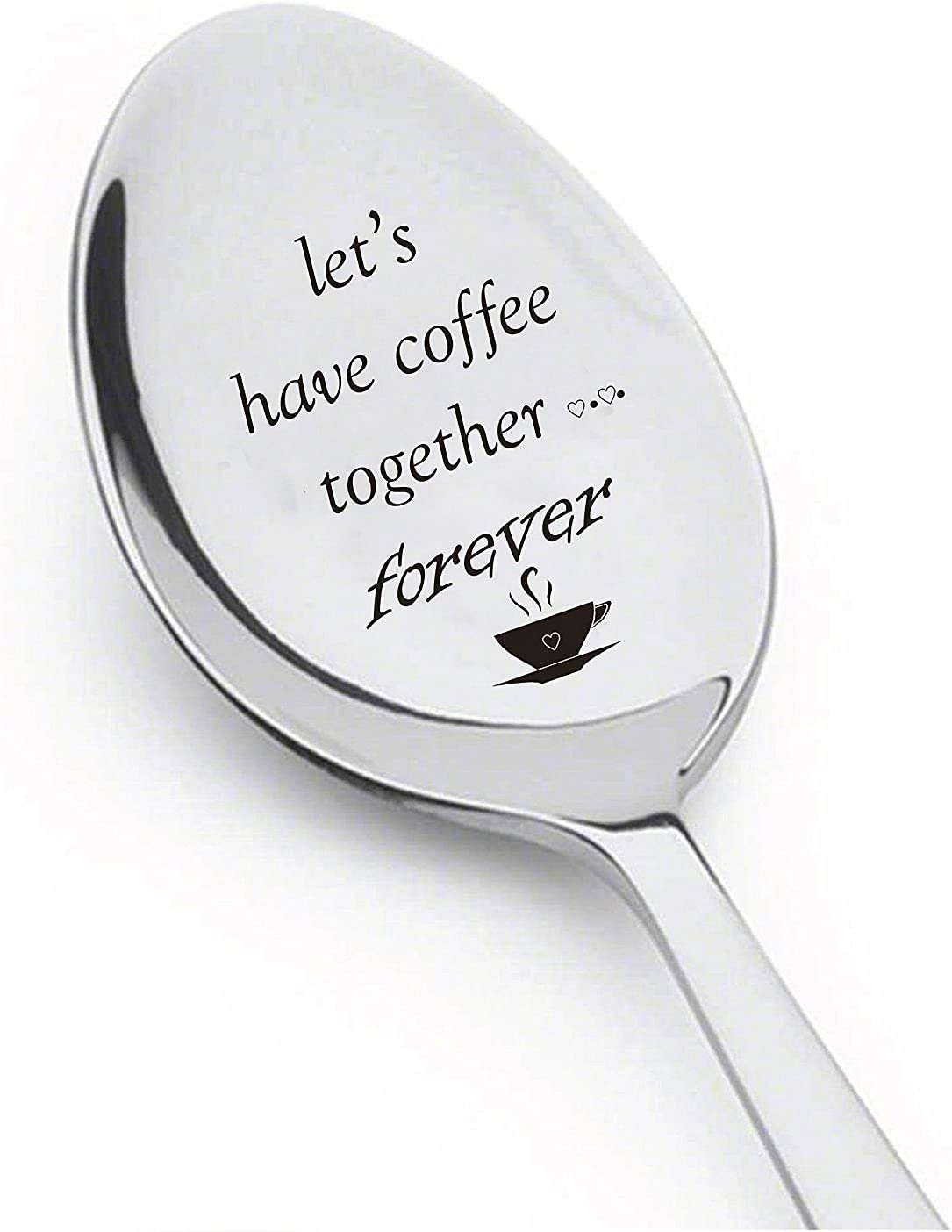 """Let's Have Coffee Together"" Spoons"