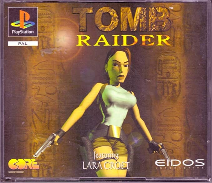 Tomb Raider Featuring Lara Croft The Original Playstation