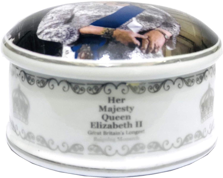 Reina Elizabeth II Caja de joyer/ía John Swannell Windsor Collection