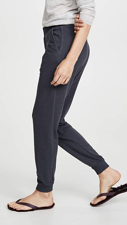 Monrow Womens Snap Front Joggers
