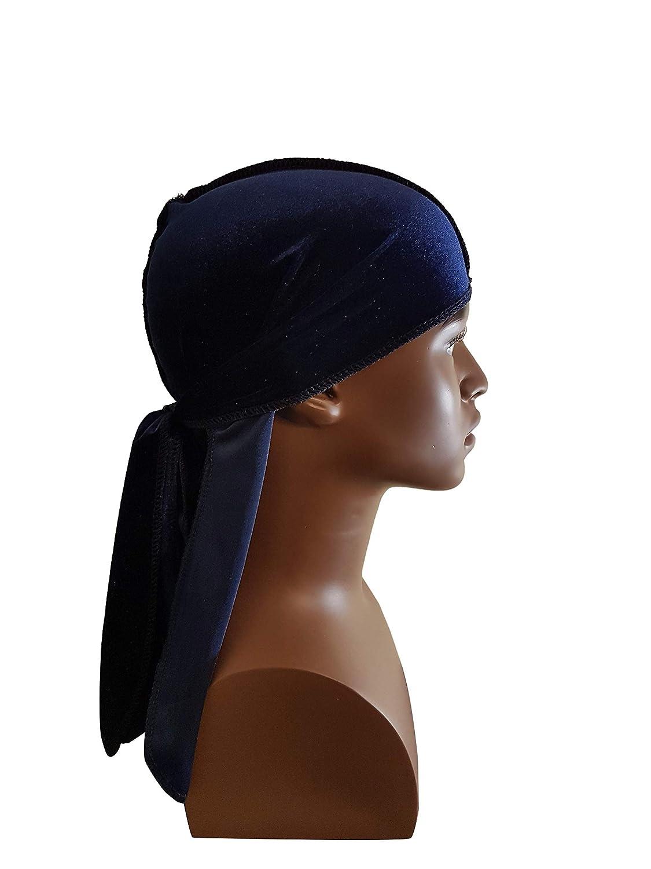 #KnuVe1.3 Knubian Premium Navy Blue Velvet Do-Rag