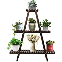 Deals on Augosta 3 Tier Wood Plant Stand