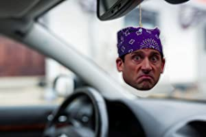 ASVP Shop Prison Mike Michael Scott The Office Inspired Car Air Freshener - Pack of 2