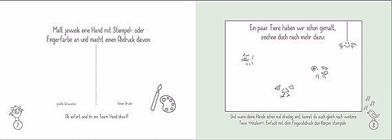 regalo para nacimiento para grandes Hermana/pequeño hermano: Libro + Tarjeta + 2 x Buttons (Eco, de papel reciclado, álbum de recuerdos): Amazon.es: Bebé