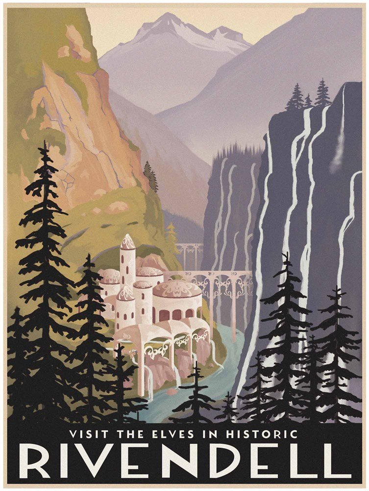 【セール 登場から人気沸騰】 Visit Historic B00P05OQ0U Rivendell Print, by 17 Steve Thomas Art Print, 17 x 22 inches by Great Art Now 17 x 22 Art Print B00P05OQ0U, 日本橋屋長兵衛 楽天市場ショップ:4a456001 --- a0267596.xsph.ru