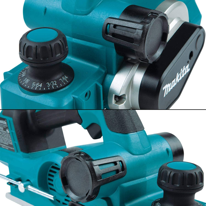 Makita Akku-Falzhobel DKP181Z 18 V 82 mm Hobelmaschine Hobel Solo kompakt