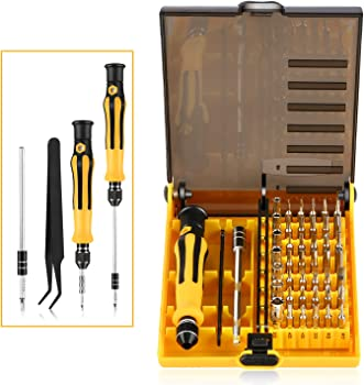 OUTAD 45 in 1 Screwdriver Bits Hand Tools Kit