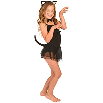 Kangaroo Kitty Cat Costume Accessory, Black, White, Size One Size fits Most: Shoes