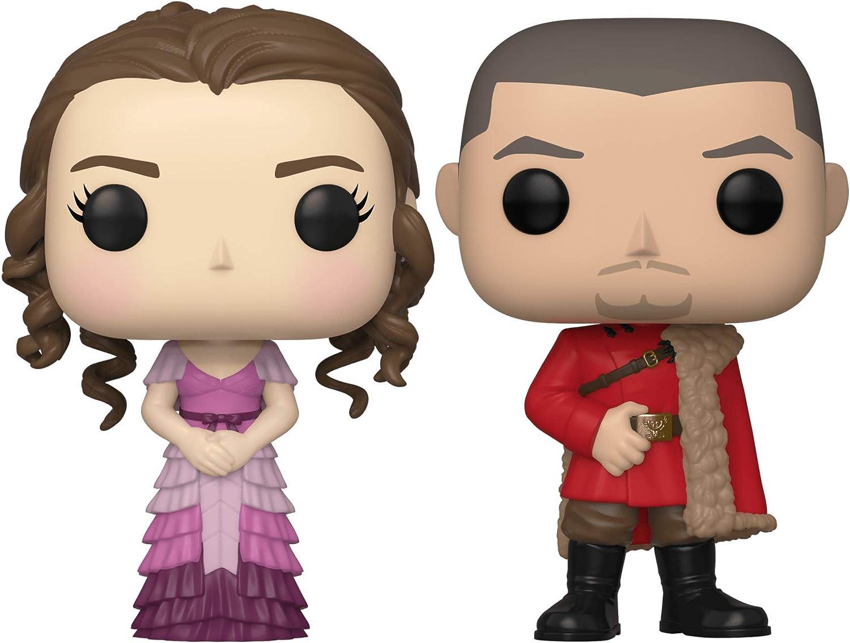 Set 2 figuras POP Harry Potter Hermione and Krum Yule ...