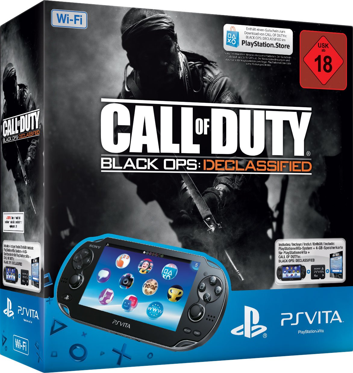 Sony PlayStation Vita (WiFi) inkl. Call of Duty: Black Ops ...
