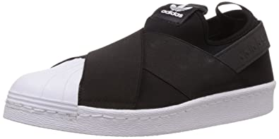 quality design 633d6 16bef adidas Originals Women s Superstar Slip On W Black and White Loafers and  Mocassins ...