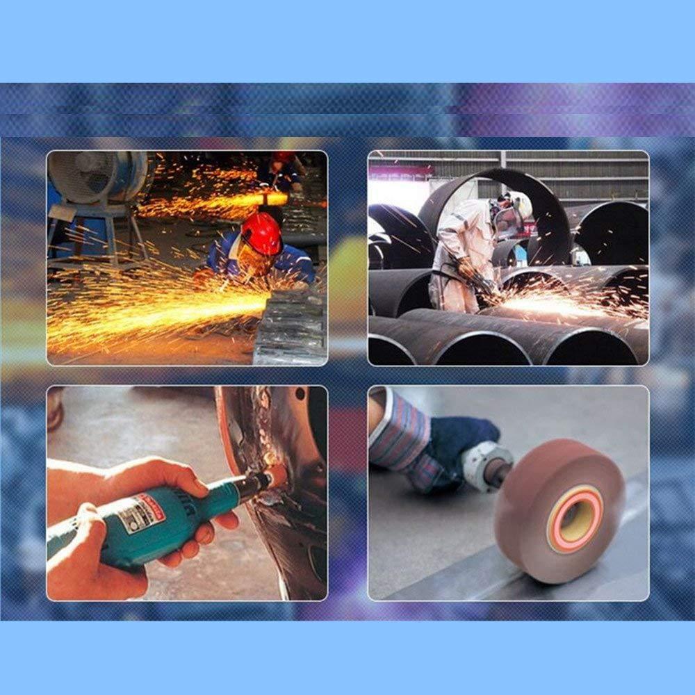 Sanding Flap Wheel for Drills Sandpaper Flap Wheel Disc 80# 120# 180 Grits Grinding Sandpaper Flap Brush with 30mm Shank Mandrel for Rotary Tools gotyou 30 Pcs Sanding Flap Wheels