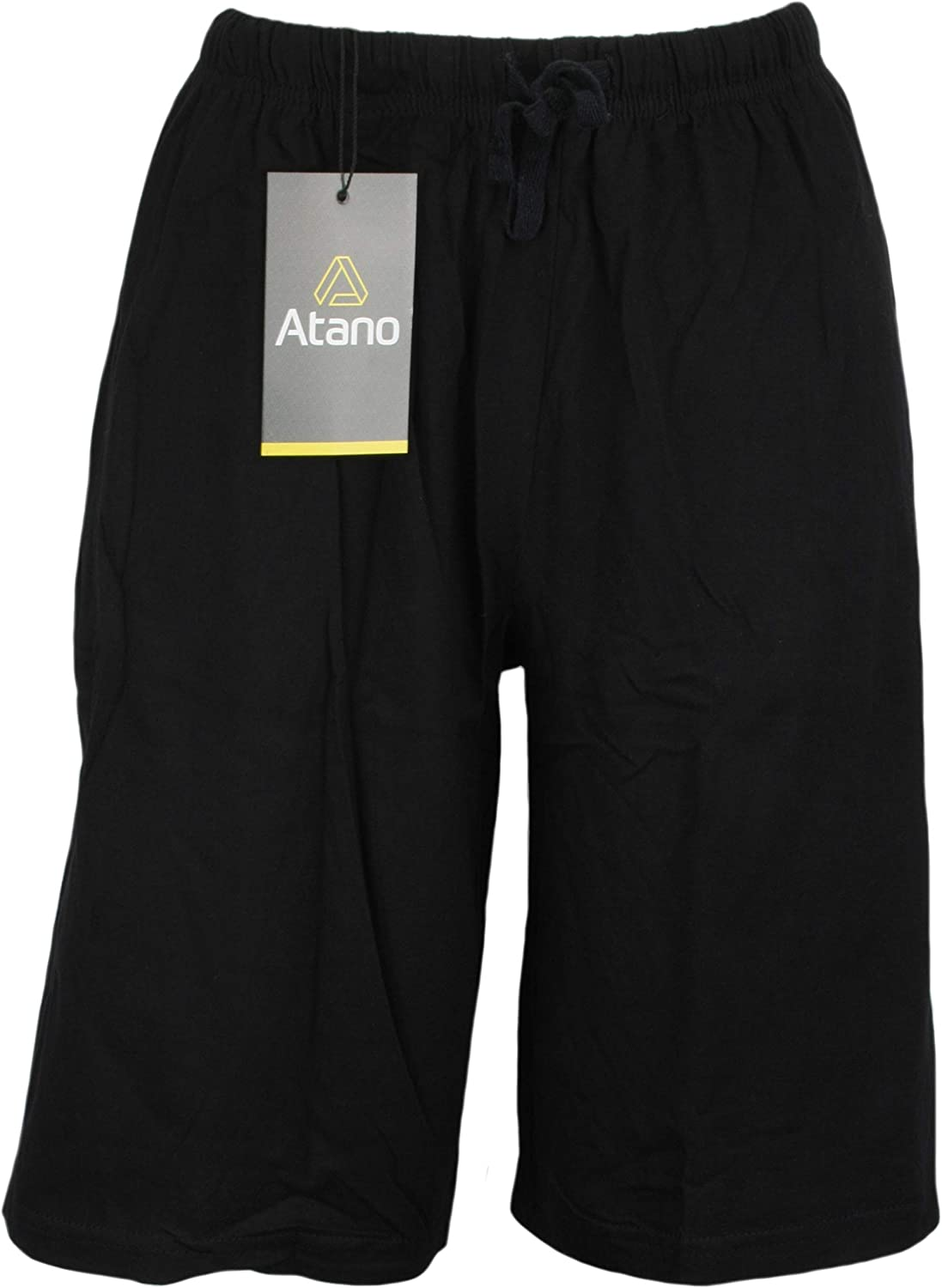 Atano Twin Pack Cotton Jersey Lounge Shorts