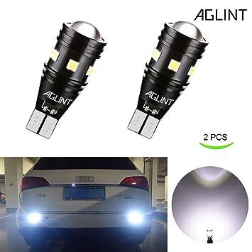 AGLINT 2X Alta Brillante Luz de Estacionamiento 912 921 W16W T15 3030 Canbus Error Gratuito Bombillas
