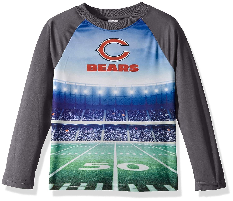 Gray NFL Chicago Bears Unisex Long-Sleeve Tee 4T