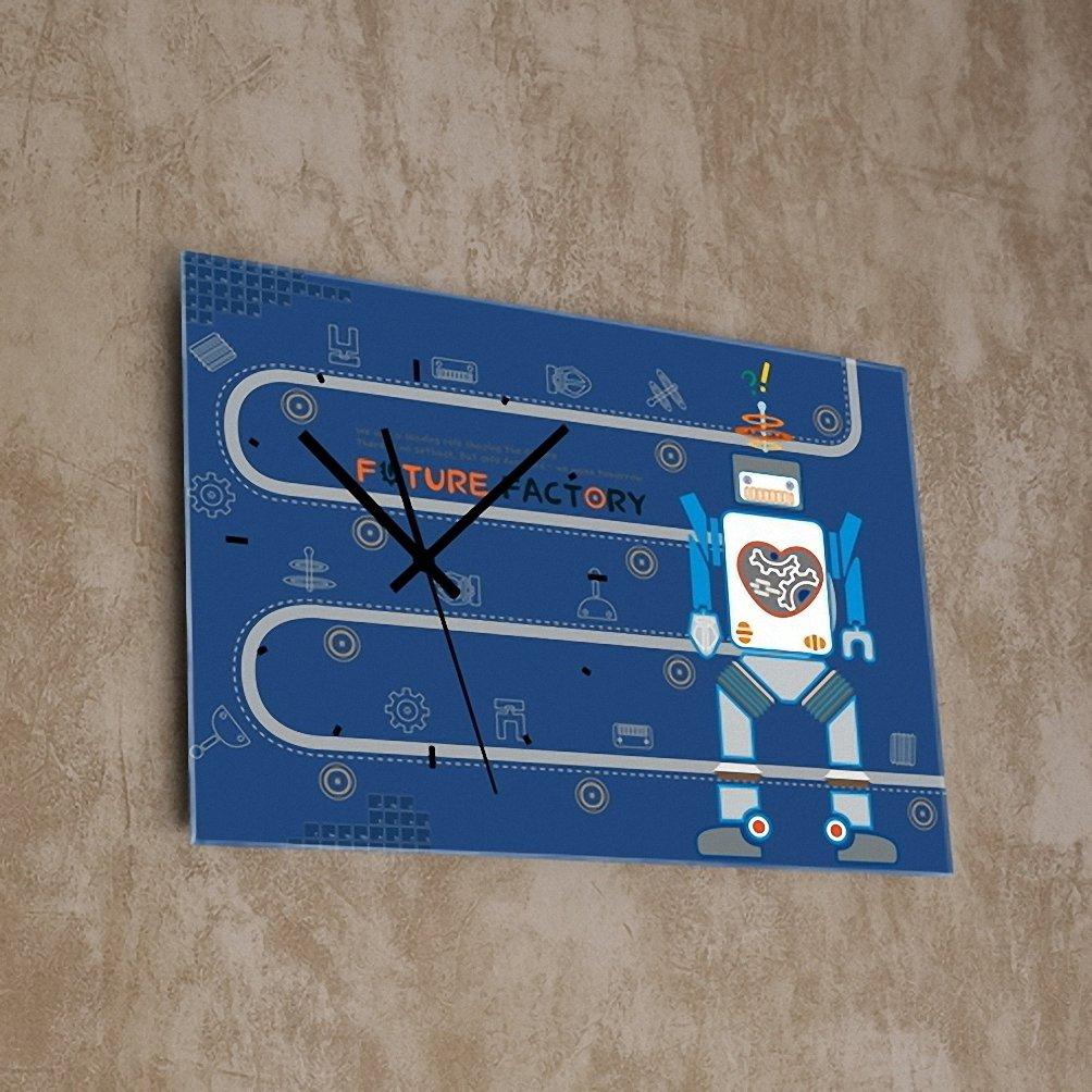 (リムピドゥ)LIMPID Design WALL CLOCK フレームがない アナログタイプ 無騒音 連続秒針 インテリア掛け時計 Syd-011 B07C8279XW