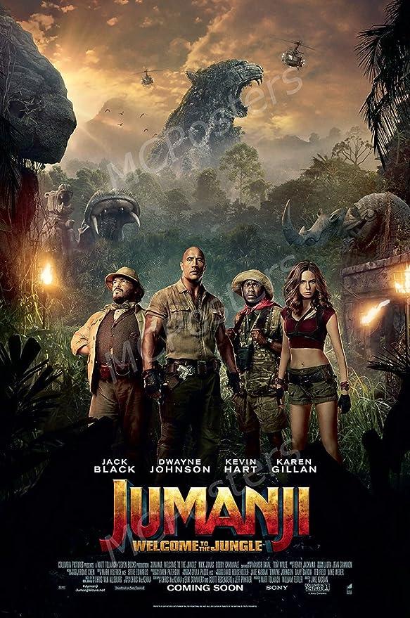 Amazon.com: MCPosters - Jumanji Welcome to The Jungle 2018 Movie ...