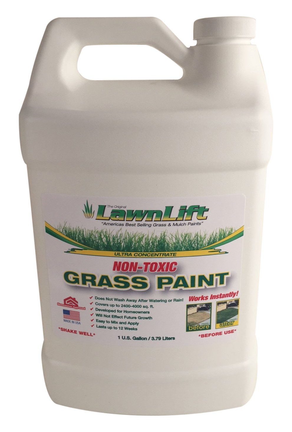 Lawn Paint Concentrated Lawn Paint (6 Units), 1 gallon