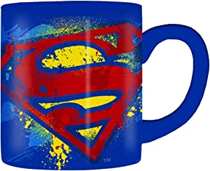 Silver Buffalo DC Comics Superman Bold Logo, 14-ounces Mug, Multicolor