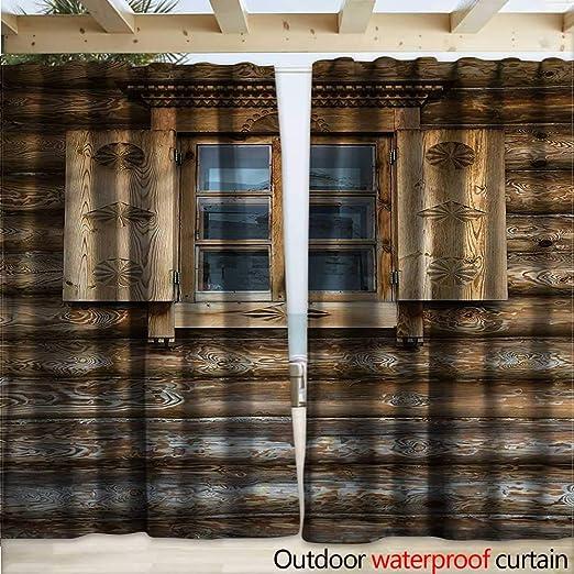 warmfamily - Cortina para Puerta de Exterior: Amazon.es: Jardín