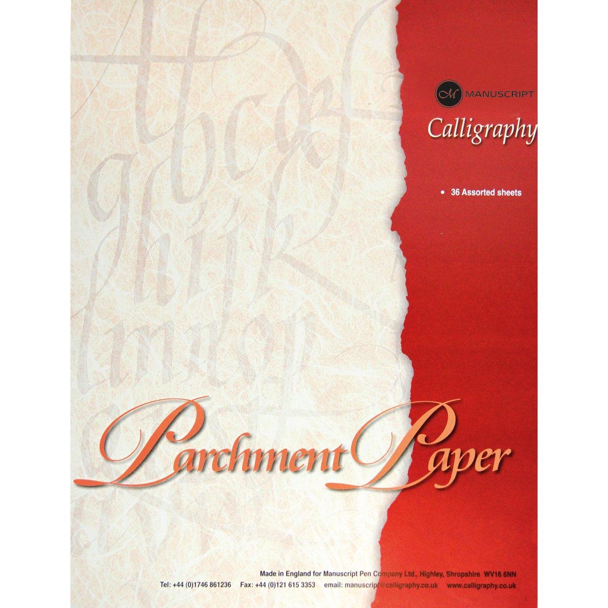 Manuscript Bloc-notes papier parchemin spécial calligraphie A4 MC303
