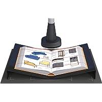 Buchwiege für Aufsichtscanner und Buchscanner. Für Scanfläche bis A3. Aus schwarzem Acryl.