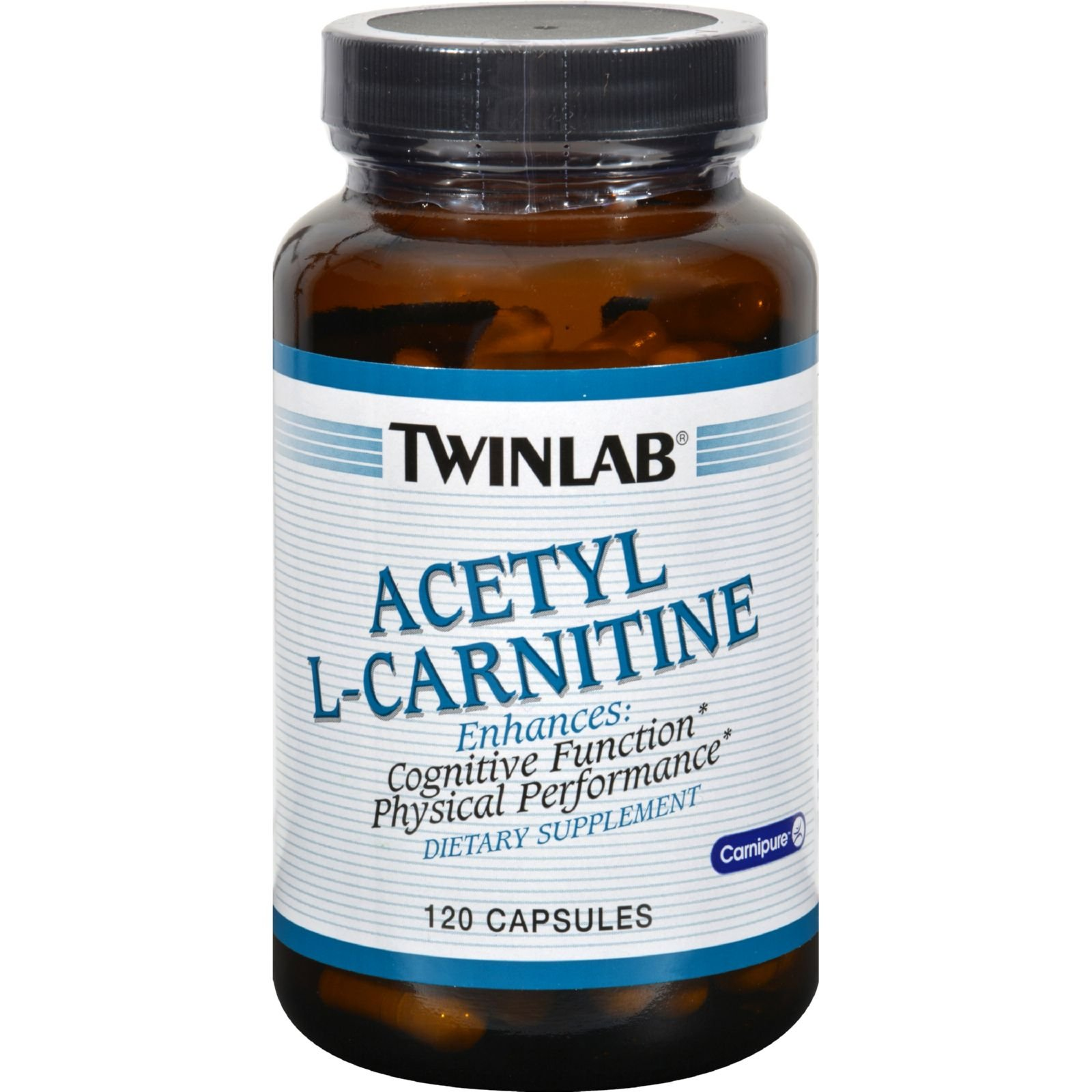 2Pack! Twinlab Acetyl L-Carnitine - 500 mg - 120 Capsules