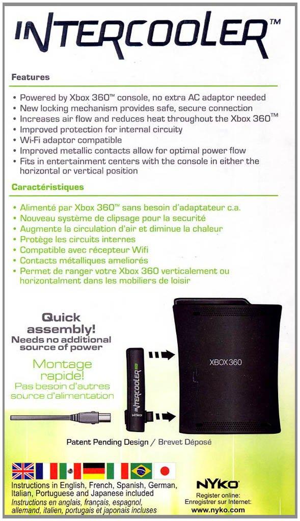 Amazon Xbox 360 Intercooler 360 Black Video Games
