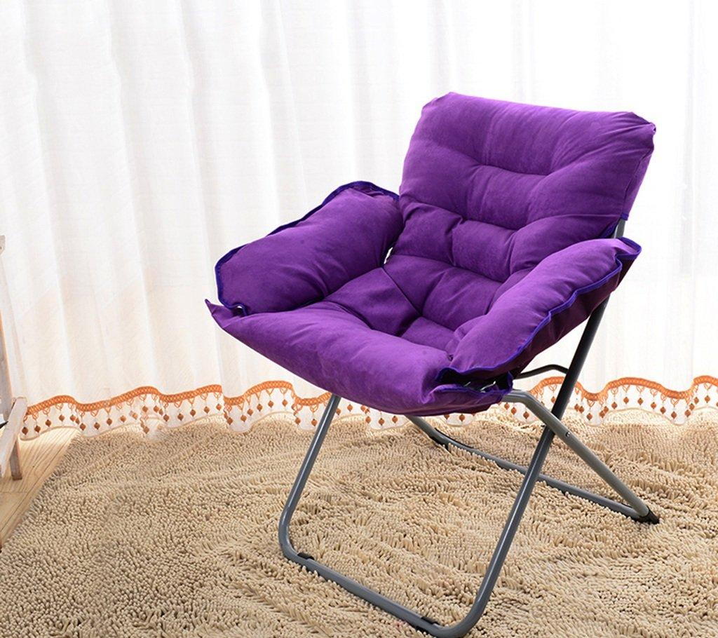 GRJH® Pouf - Pliable Lavable Confortable Durable Chambre Petit canapé Dossier Bay fenêtre chaise Portable -Pliant