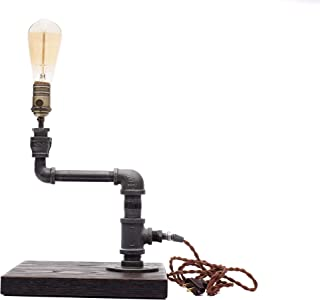product image for Pipe Industrial Table-Top Desk Lamp Made in America (Monroe Lamp)