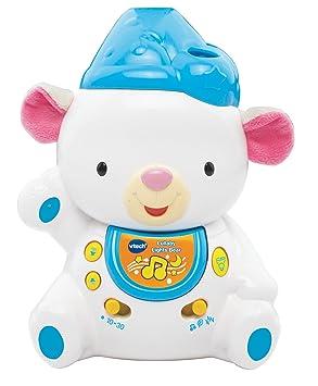 f4b0b3cb0211 Vtech Baby Lullaby Lights Bear Toy: Amazon.co.uk: Toys & Games