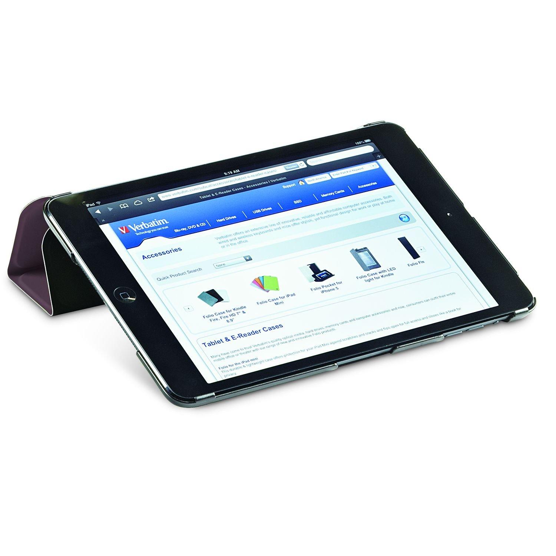 Verbatim Folio Flex Case for iPad Mini (1,2,3), Mocha 98373 by Verbatim (Image #4)