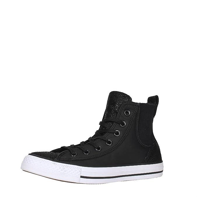 22c751273081 Converse 555170c All Star Hi Black Sneakers Femme Black 41 Eu Black ...