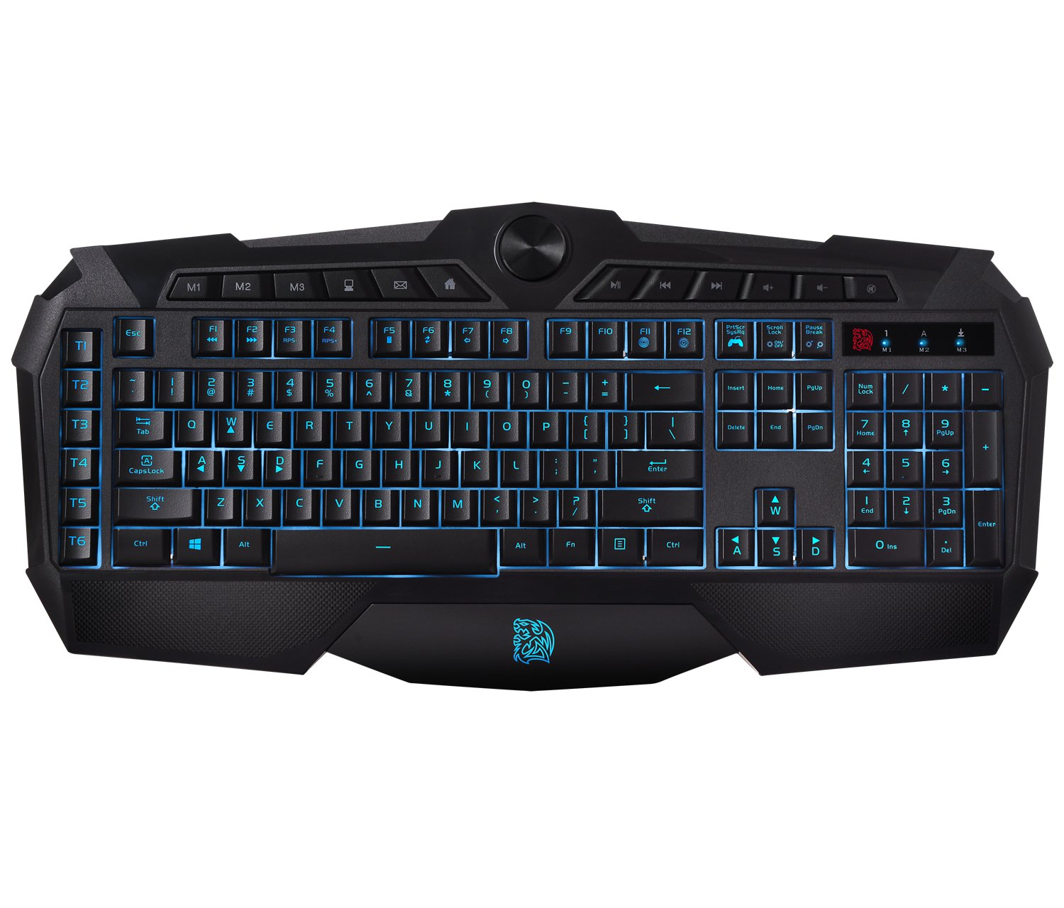 Thermaltake Gaming Keyboard (KB-CHM-MBBLUS-01) Thermaltake USA Direct