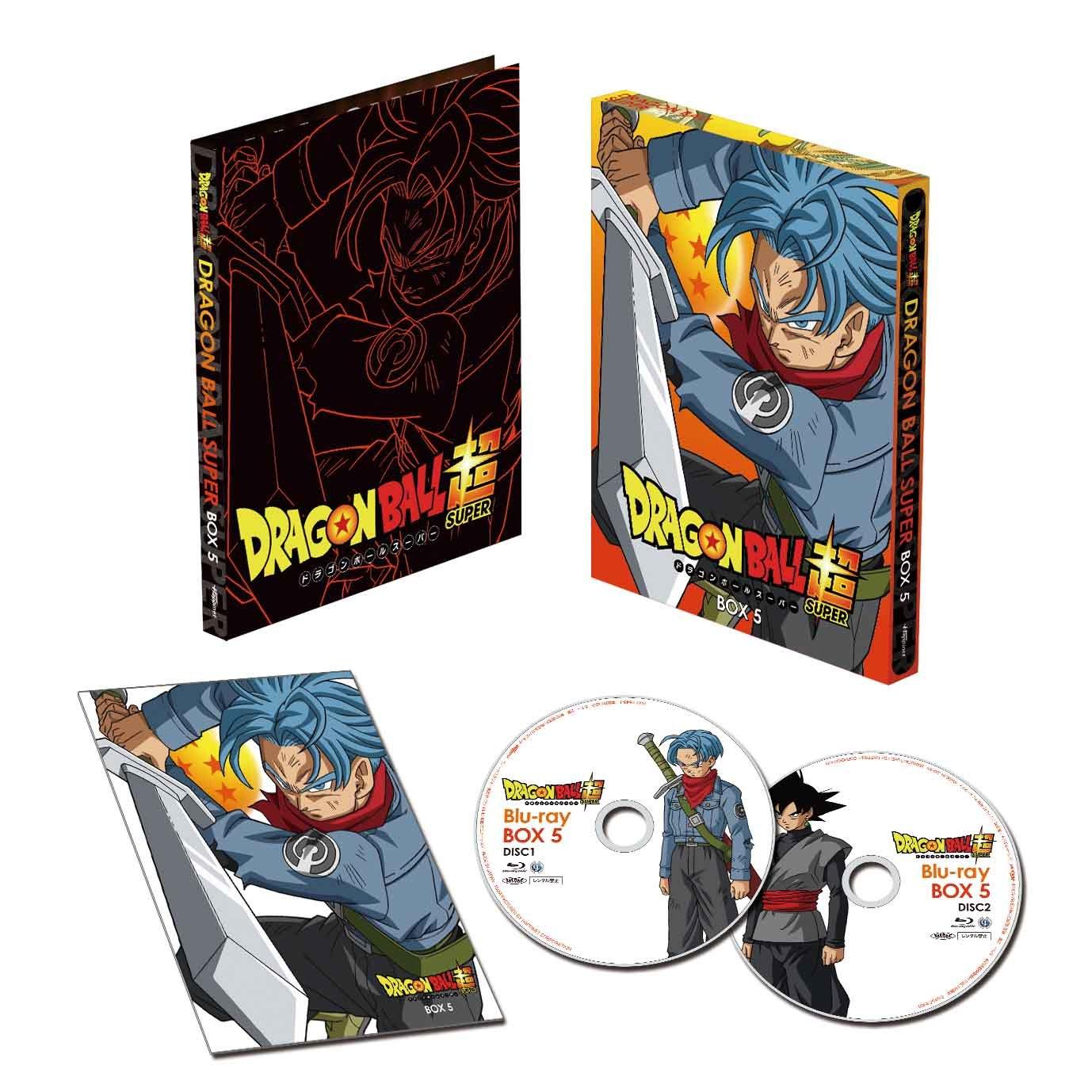 ドラゴンボール超 Blu-ray BOX5(オリジナルB2布ポスター付き) B01FS0JUIY