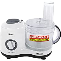 Inalsa Nexa 600-Watt Atta Maker Cum Chopper (White)
