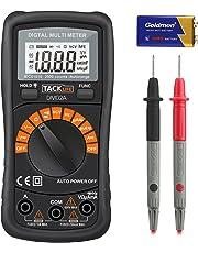 Multímetro Digital, Tacklife DM02A Polimetro autorango-2000 counts polimetro Rango automático con NCV,