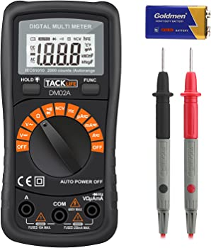 Tacklife DM02A Classic Digital Multimeter