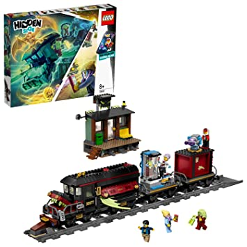 LEGO Hidden Side 70424 Ghost Train Express Construction Set, AR Lego Games  with Lego app, Toys for 8 Years Old Boys and Girls, Interactive Augmented