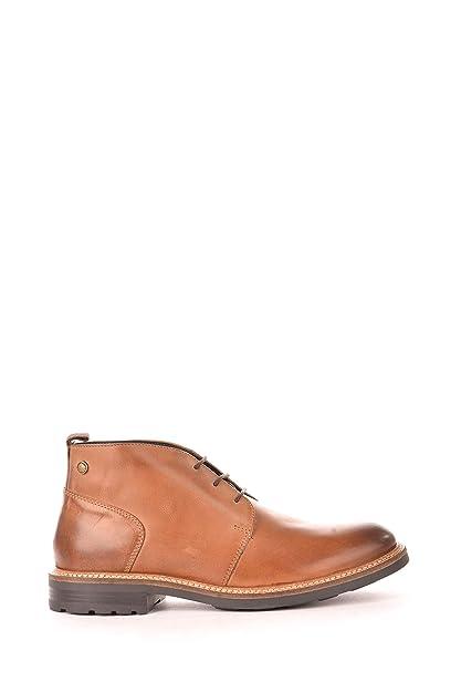 bfc0e62e39c Base London Men Tan Leather  Tully  Chukka Boots 6  Amazon.co.uk  Shoes    Bags