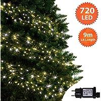 Árbol de Navidad Luces 500 LED 12.5m Multicolor