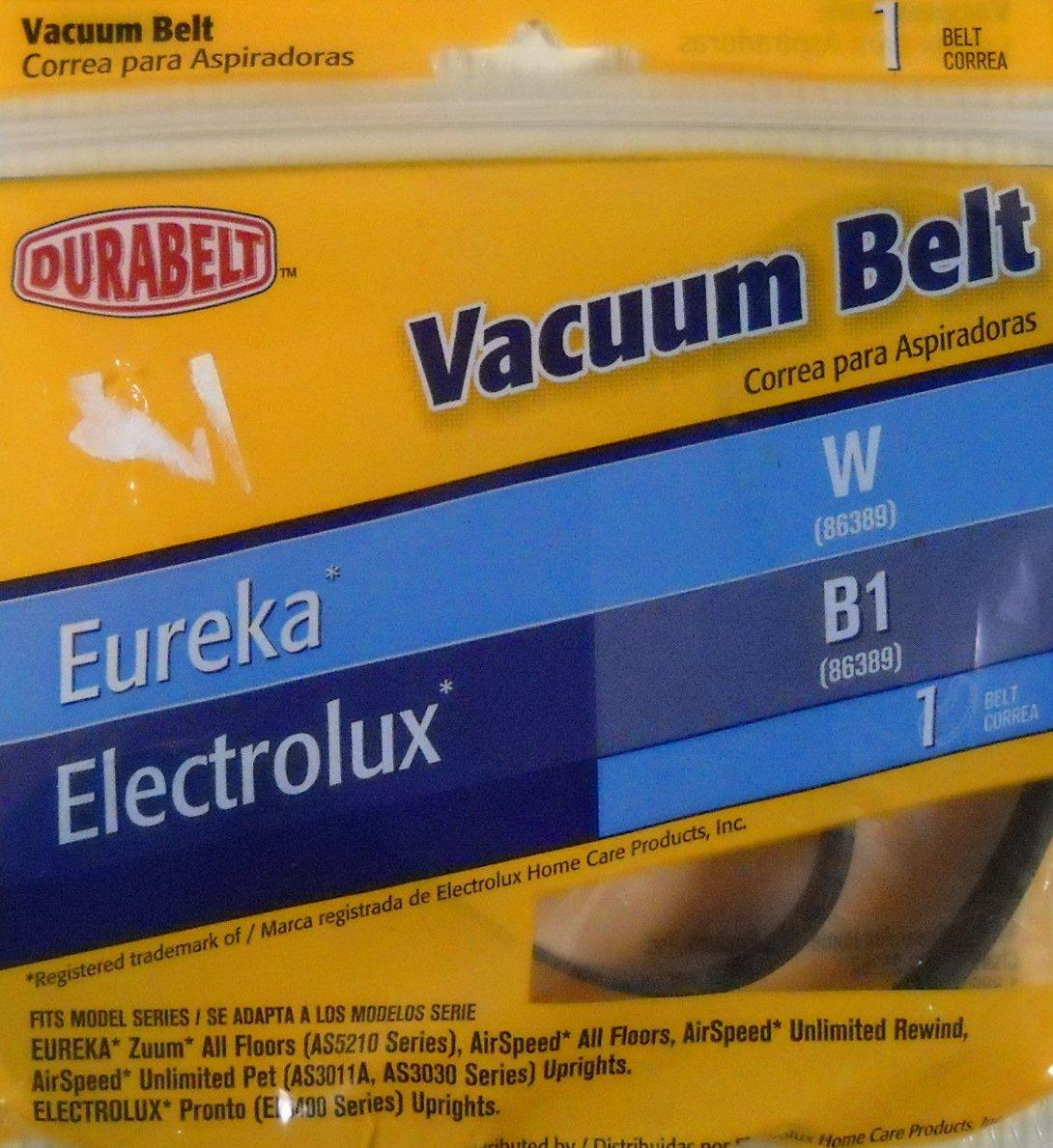 Durabrand Eureka W and ElectroLux B1 Vacuum Belt