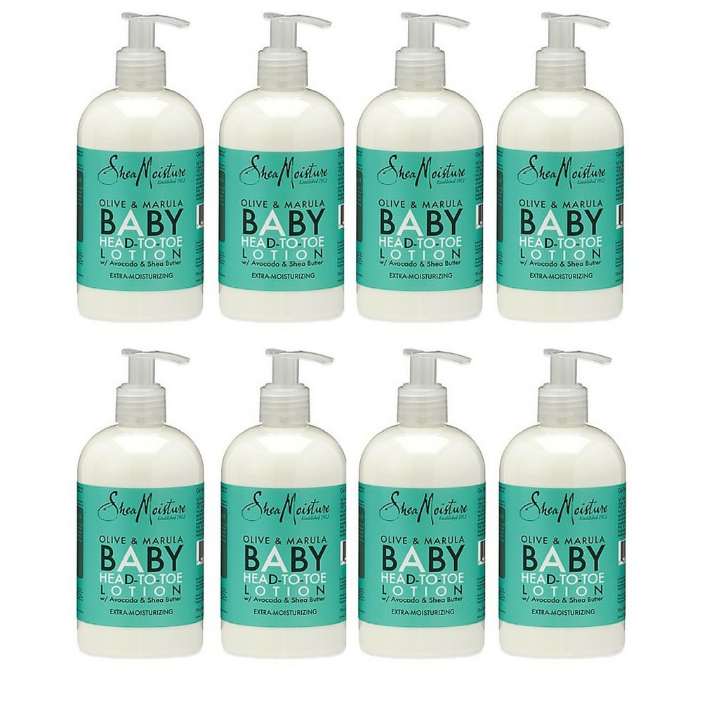 SheaMoisture 12 oz. Olive and Marula Head-to-Toe Baby Lotion (8 pack)