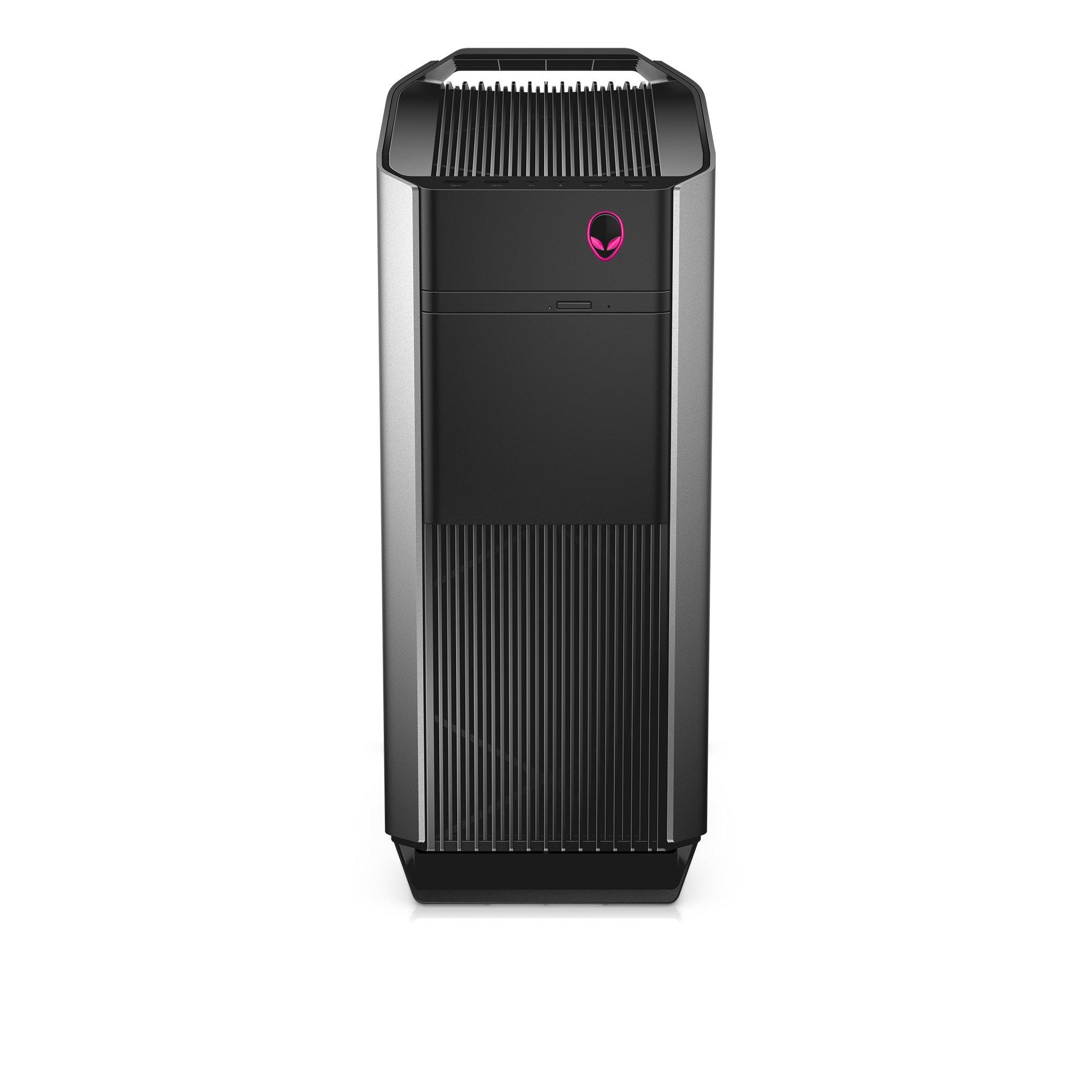 Alienware AUR5-12571SLV Desktop (6th Generation Intel Core i7, 16GB RAM, 256GB SSD + 2TB HDD), Epic Silver by Alienware