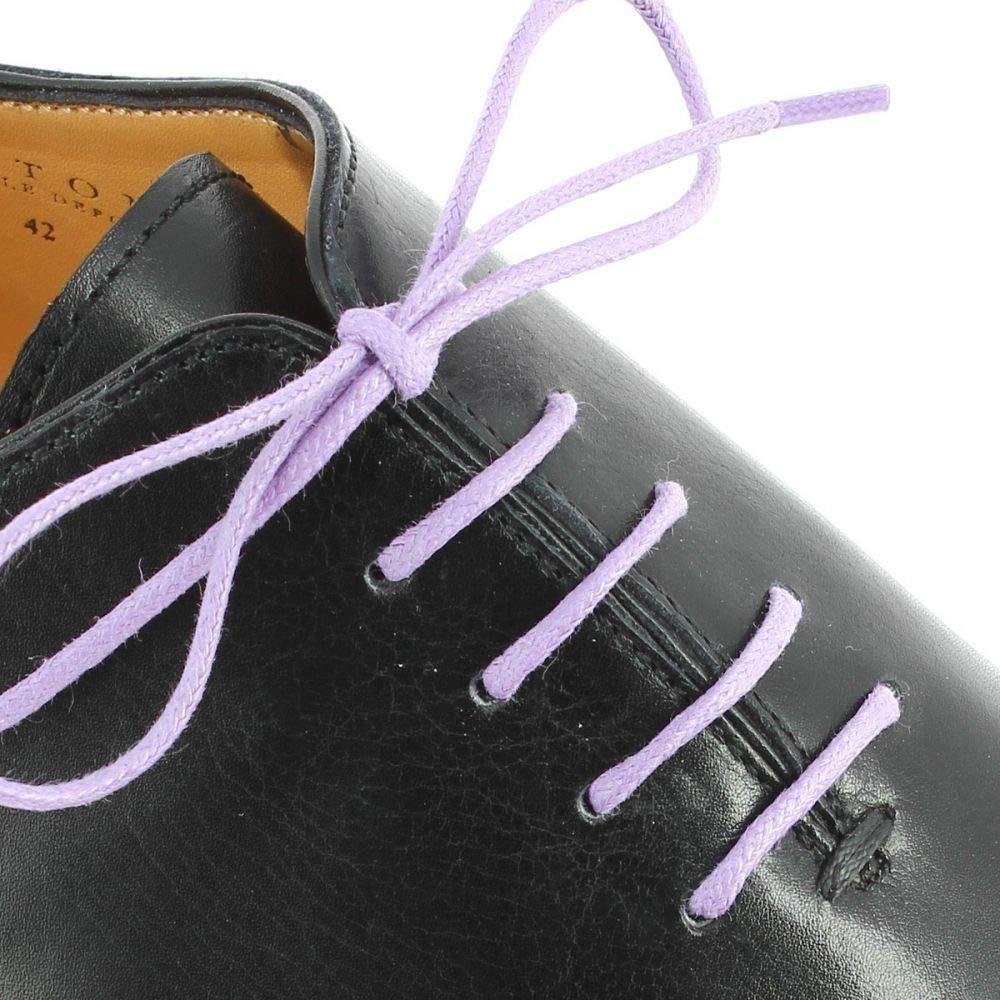 Lacets Ronds Coton Cir/é Couleur Lavande Les lacets Fran/çais
