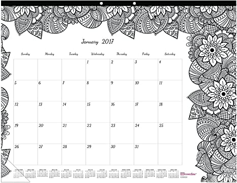 2020 Fine art colouring calendar