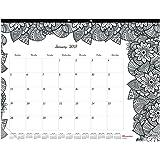"Blueline 2017 Monthly Coloring Desk Pad Calendar, Botanica, January - December, 22 x 17"" (C2917311-17)"