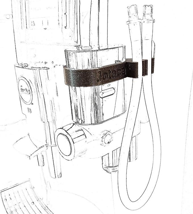Juego de fijación para tubo de leche compatible con Jura E80 E8 ...