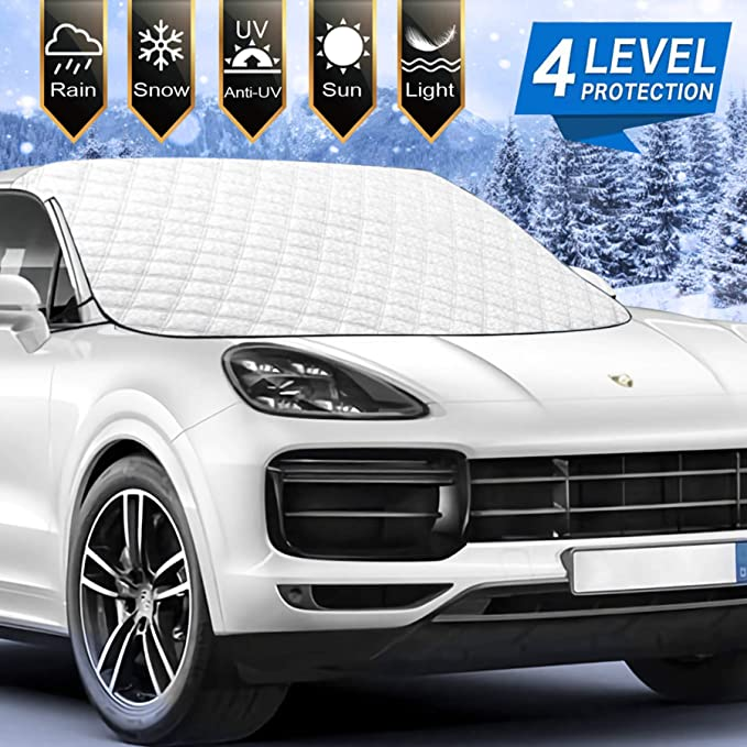 Ice Removal Sun Shade ENXIANGXIJ Good Guys Packaging Chucky Car Windshield Snow Cover 58 X47 Fit for Universal Cars
